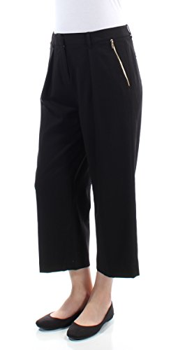 Calvin Klein Womens Pleated Capris Cropped Pants