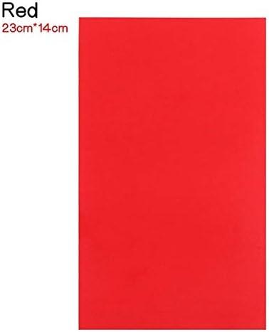 CZCCH 水溶性カラフルなカーボン紙生地刺繍BUMF描画転送ソーイングアクセサリー (Color : Red A)
