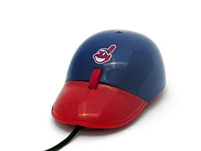 Cleveland Indians MLB Baseball Hat Computer USB Optical PC Scroll Mouse