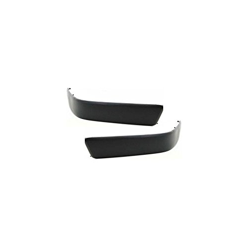 (Bumper Molding Compatible with Toyota Tercel 95-97 Toyota Tercel 95-97 Front LH and RH Side Set Of 2 Black)