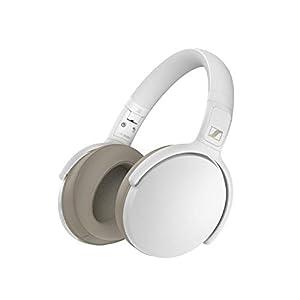 Sennheiser HD 350BT Over Ear Wireless White Headphone