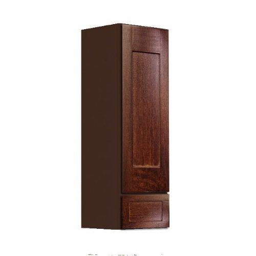 Wide Maple Dresser (Shaker Panel Door Style Linen Wall Cabinet 15