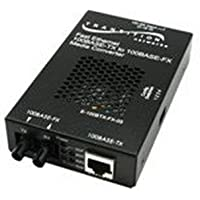 Transition Stand-Alone - Transceiver - RJ-45 / LC single mode - up to 12.4 miles - 1310 nm - E-100BTX-FX-05(SMLC)-NA