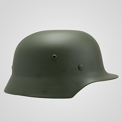 GPP Perfect WWII German Army M35 Green Steel Helmet Replica Stahlhelm 35 WW2 M1935 Size M