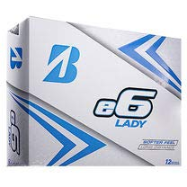 Bridgestone 2019 e6 Lady White Golf Balls (One Dozen)