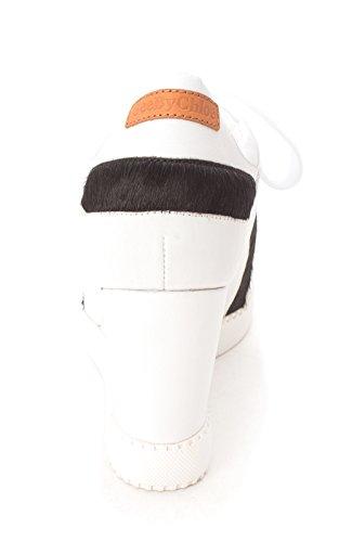 See By Chloé Kvinna Bianco Höjd Bästa Snörning Mode Sneakers Vita