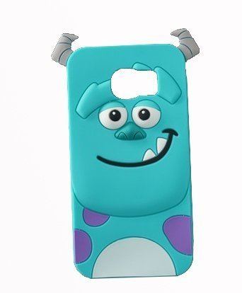 official photos 3e094 2f3be Galaxy Note 5 Case,Galaxy Note 5 Silicone Case,Tribe-Tiger 3D Cute Cartoon  Blue Monster Soft Silicon Gel Rubber Case Cover Skin for Samsung Galaxy ...