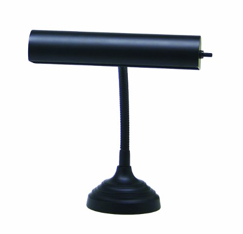House Of Troy AP10-20-7 Advent Collection 11-1/2-Inch Gooseneck Portable Piano/Desk Lamp, - Piano 10' Lamp