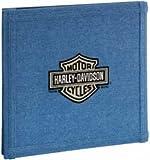 Harley Davidson Motorcycle 12'' x 12'' Denim Scrapbook Album (HDSA02)