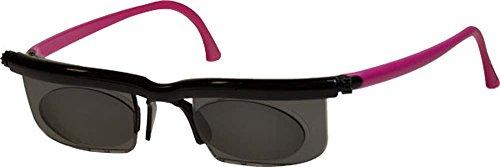 Adlens EM02- S-BK-PK Sundials Black Frame & Pink Temples With Gray Tinted Alvarez - Sundial Golf