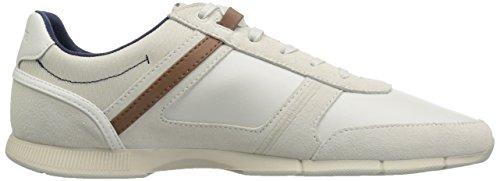White Lacoste Men's Leather Sneaker Brown Off Menerva f01n0U