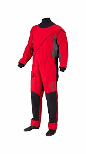 Gill Pro Drysuit Breathable Front Zip Red SM