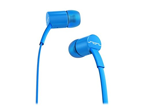 Sol Republic 1112-36 JAX In-Ear Headphones with 1-Button Mic and Music Control - Electric Blue