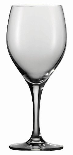 Schott Zwiesel  Tritan Crystal Glass Mondial Stemware Collection Wine/Water Goblet Glass, 14.2-Ounce, Set of 6 -