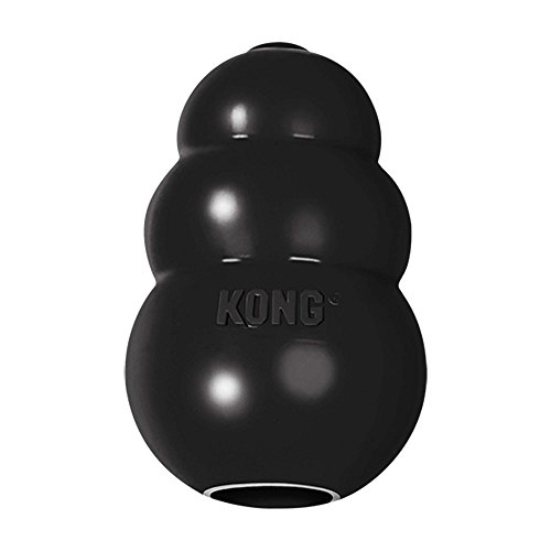 KONG Extreme Dog Toy, X-Large, Black (Black Plush Dog Toy)