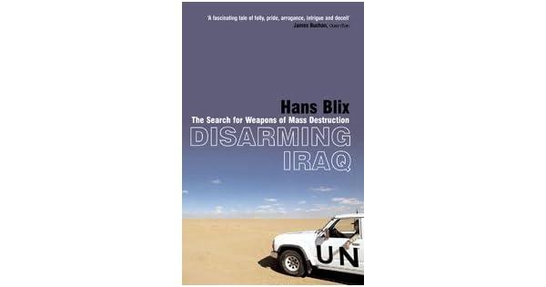 Amazon.com: Disarming Iraq eBook: Hans Blix: Kindle Store