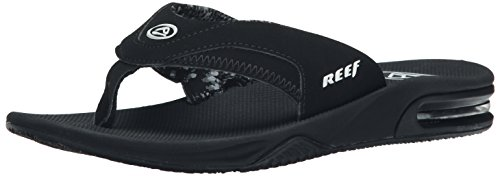 Reef Women's Fanning, Black, 7 M US
