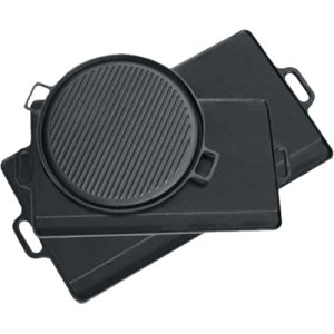 Cast Iron Pan Texsport (Reversible Griddle)