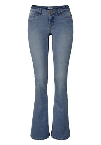 azul mujer o Ajc largo Jeans Super tama Stretch qPn0xp4g