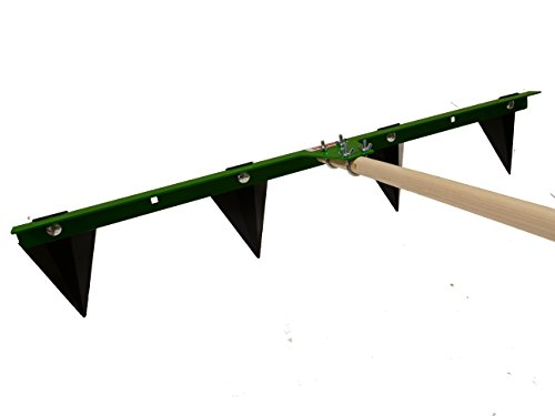 Hoss Tools Garden Row Maker | Easily Create Planting Furrows ()