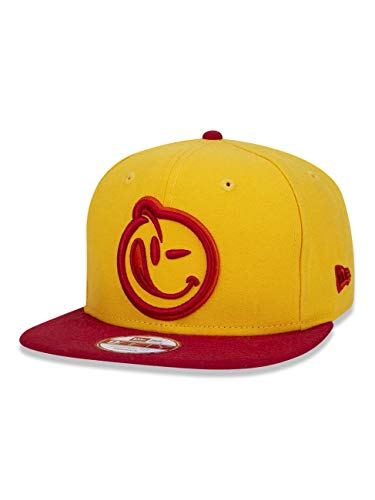 cf86c1509 BONE 950 ORIGINAL FIT YUMS ABA RETA SNAPBACK AMARELO NEW ERA