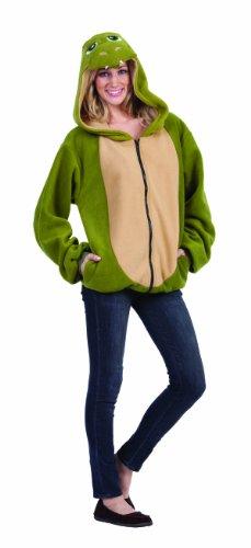RG Costumes Ness The Dinosaur Hoodie, Green/Tan, (Dinosaur Hoodie Costume)