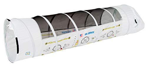 Pacific Play Tents 20250 Kids Space Docking Port 6-Foot Crawl Play Tunnel for Indoor / Outdoor Fun