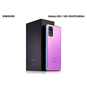 Samsung Galaxy S20+ 5G BTS Edition Factory Unlocked New Android Cell phone US Version| 128GB of Storage | Fingerprint ID…