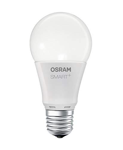 Osram Smart+ LED, met E27-Fitting, Warmwit, Dimbaar, Compatibel met Echo Plus en Show (2E Gen, Philips Hue, Zigbee