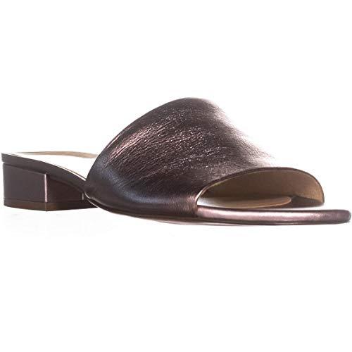 Leather Metallic Sandal Mason Lilac Slide Naturalizer Women's 4gqZfHHY