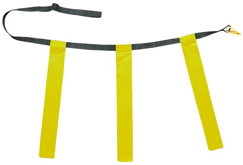 Champion Sports Adult Triple Flag Football Set Color: Yellow (TFFAYL) pack of 12