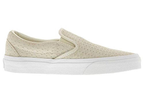 Vans Klassieke Slip On Dames 10 / Heren 8.5 Suède Reliëf Geweven Mode Sneaker