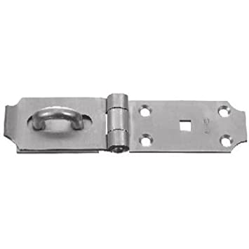 National Hardware V31 7 1 2quot Safety Hasp In Stainless Steel
