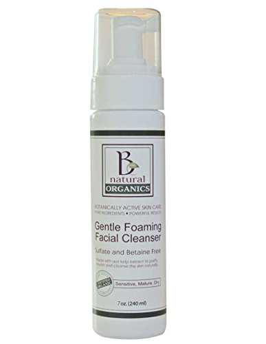 Be Natural Organics Gentle Foaming Facial Cleanser 7 Oz (210 ml)