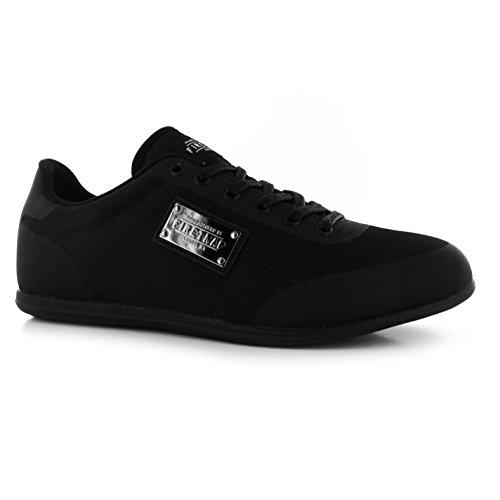 Firetrap DR Dry décontracté Baskets pour homme Noir Baskets mode Sneakers Chaussures