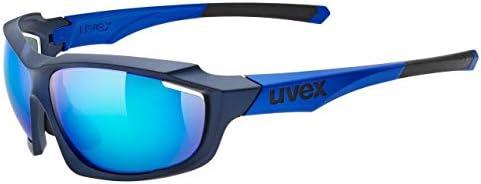 Uvex S5309364416 メガネ ブルーマットメタリックミラーブルー 3