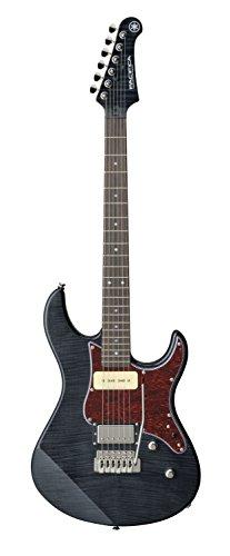 Yamaha Pacifica PAC611VFM TBL Solid-Body Electric Guitar, Translucent Black