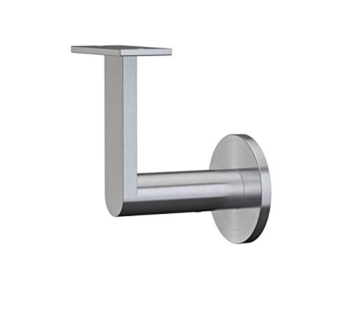 Inline Design Stainless Steel Handrail Wall Bracket Gamma Quasar (Mounting Surface: Wood or Sheet Rock)