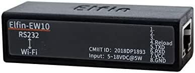 HF Elfin-EW10 WiFi Serial Server to Ethernet Wireless Networking Devices Modbus TPC IP Function RJ45 RS232 to WiFi Serial Server (Only Serial Server)