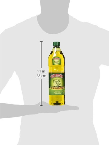 Borges - Aceite de Oliva Virgen Extra - Botella de 1 Litro.: Amazon.es: Amazon Pantry