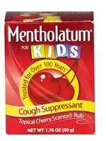 Mentholatum Kids Chst Rub Size 1.76z Mentholatum Kids Cherry Chest Rub 1.76z (Cherry Chest Rub)