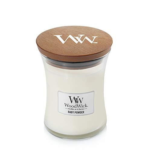 WoodWick Candle, Medium, Baby Powder ()
