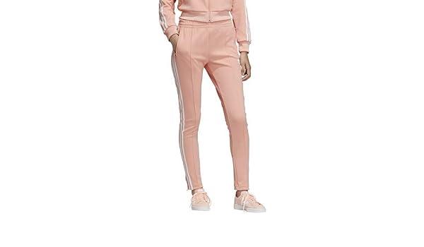 adidas Originals Women's Superstar Track Pants, dust Pink