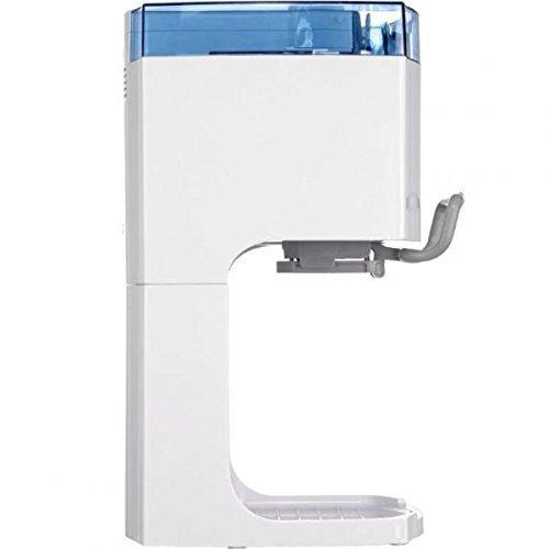 4in1 Gino Gelati IC-55W-B Softeismaschine Eismaschine Frozen Yogurt-Milchshake Maschine Flaschenkühler