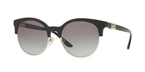 Versace Womens Sunglasses (VE4326) Black/Grey Plastic - Non-Polarized - - Versace Shades 2017