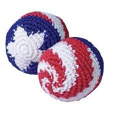 - 1 Dozen (12) Patriotic USA Flag KickBalls- 4th of July Barbecues Summer Events Sports and Outdoor Fun