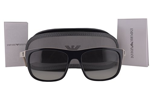Emporio Armani EA4085 Sunglasses Top Grey On Beige w/Gray Gradient Lens 555711 EA - Sale On Armani