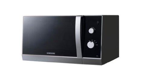 MW 82 Samsung NX de anillas, 1250 W Microondas/23 l/blanco/plata ...