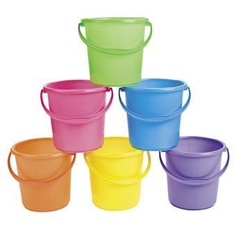 Sand Bucket Assortment - Easter Baskets (Easter Pail)