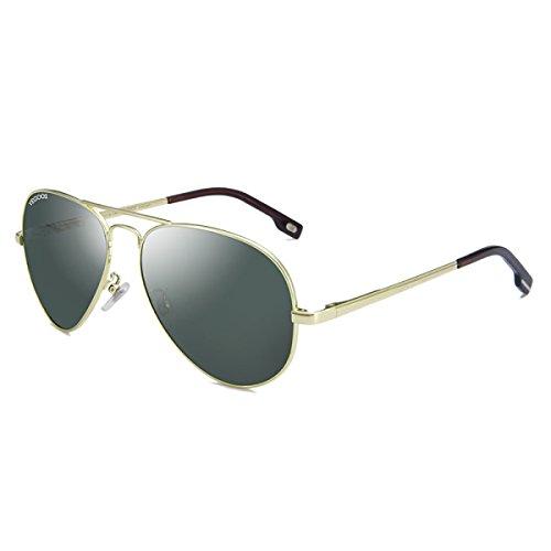 Aoligei Mode lunettes de soleil Eye lunettes de soleil métal européen et américains lunettes de soleil couleur film Mesdames lunettes CePyG